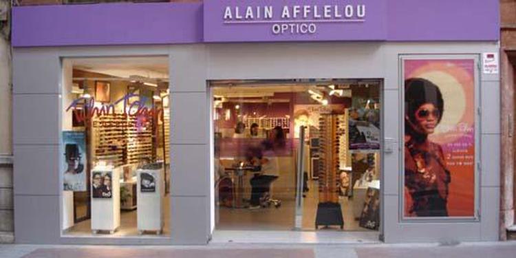 b00c2ed7cf Alain Afflelou inaugura su undécima óptica en Barcelona -