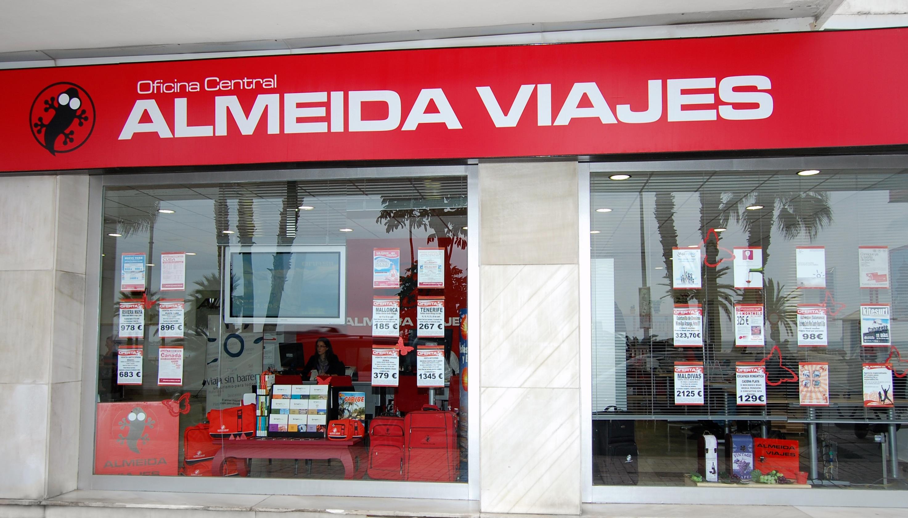 Franquicia almeida viajes franquicias de agencia de for Agencia turismo madrid