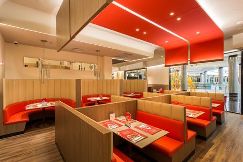 Franquicia vipsmart franquicias rentables de comida r pida for Planos de restaurantes modernos
